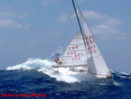 Anyone knows where this boat is sailing today great picture but not